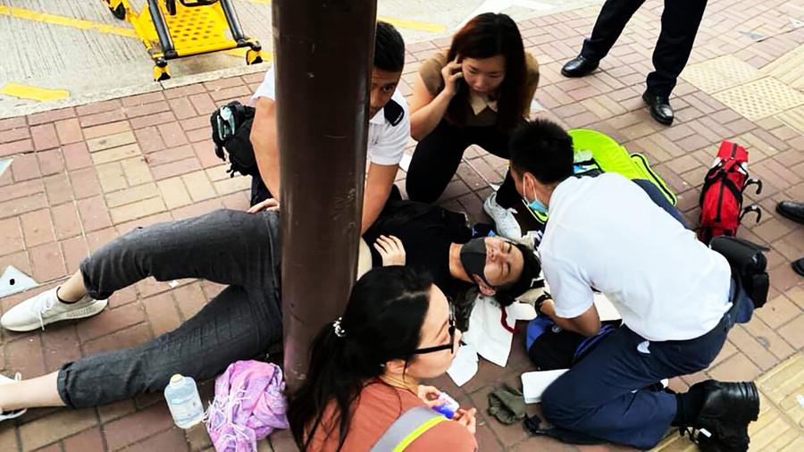 發文宣遭大陸男割頸 香港高中生頸肌永久斷裂