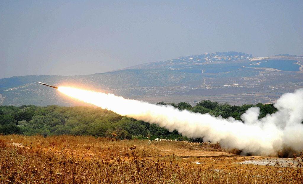 2020年1月20日,3枚卡秋莎火箭炮襲擊巴格達使館群聚的綠區。(示意圖)(Aviv Dibon/IDF via Getty Images)
