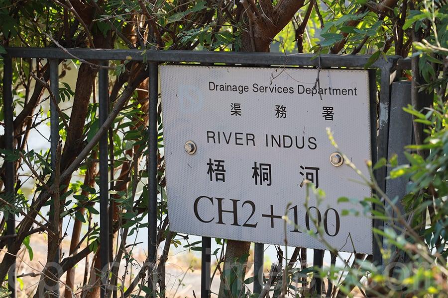 「梧桐河」的英文名字是「River Indus」(印度河)。(陳仲明/大紀元)