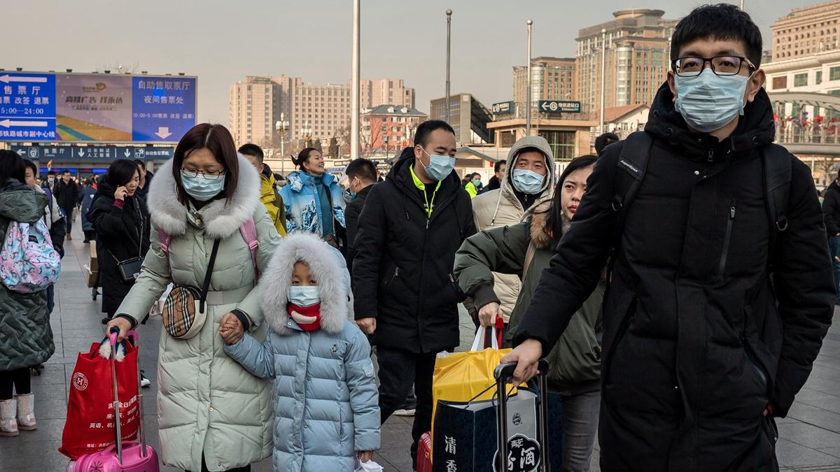 中國武漢肺炎疫情持續擴散,引發中國社會及周邊國家人心惶惶。(NICOLAS ASFOURI/AFP via Getty Images)