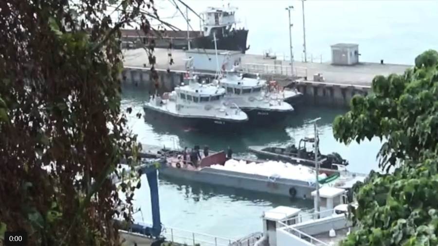 海關巡邏艇疑撞凍肉走私船翻沉  3名關員殉職