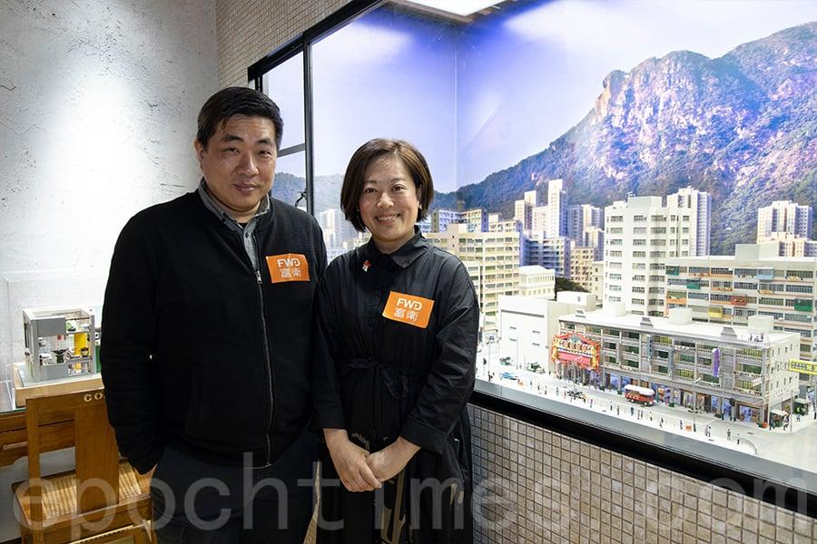 微型藝術單位TOMA Miniatures受邀與富衛保險合作,在1881公館首次舉辦「惜於微時—香港故事縮影展」。(陳仲明/大紀元)