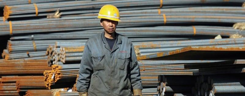 中國鋼鐵行業因產能過剩,已進入減量發展時代,產銷雙降更是大勢所趨。(AFP)