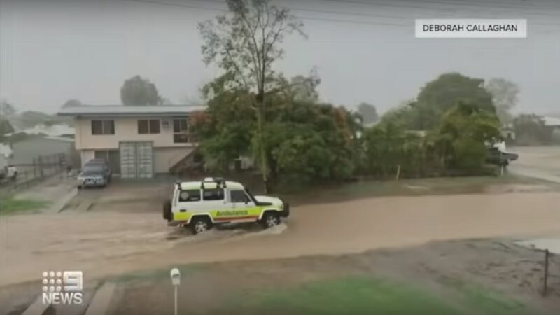澳洲滂沱大雨熄滅火場 昆士蘭卻出現嚴重水災