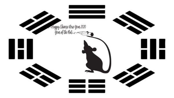 2020年適逢庚子年,「庚」是金,「子」是鼠,2020是金鼠年。(pixabay)