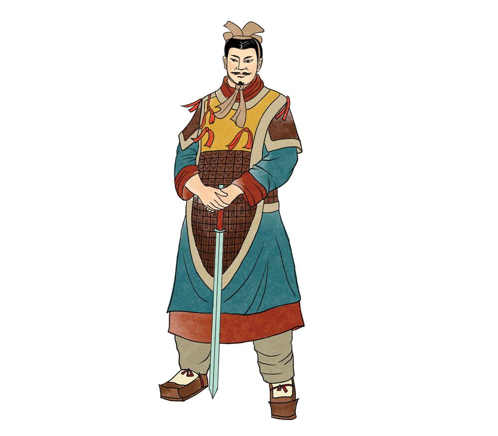 彭越,與韓信、英布並稱漢初三大名將。