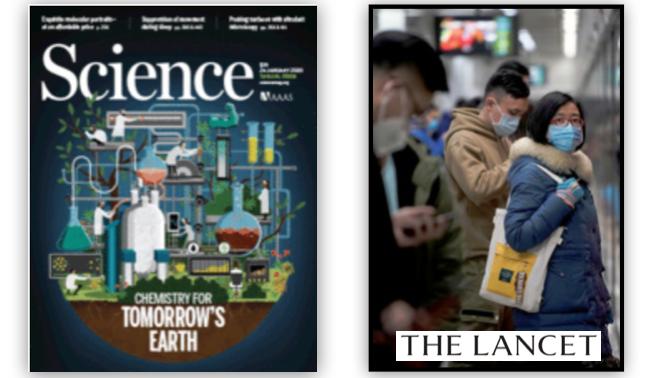 美國《科學》雜志、英國醫學期刊《柳葉刀》:早在華南海鮮市場暴露史的病例出現之前,這種病毒就已經在武漢市的其他地方「悄無聲息地傳播」。(網絡圖片)