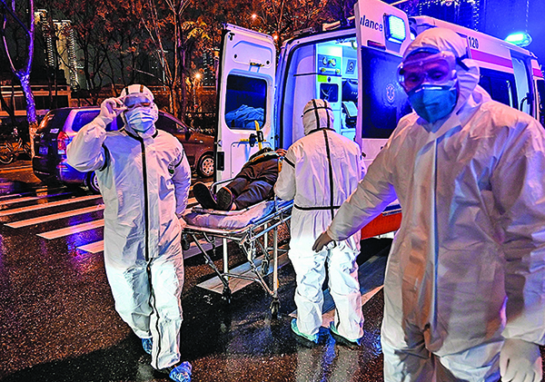 傳被查處8人都是醫生 都在抗疫最前線