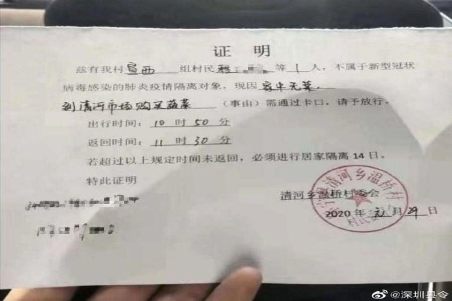 南京兩村攆省委書記 湖南鄉村進行嚴厲隔離