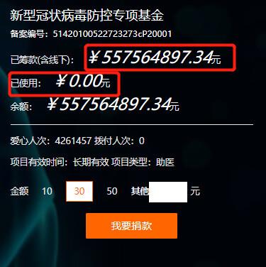 武漢市慈善總會官網。