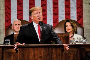 特朗普周二發表國情咨文 五大重點