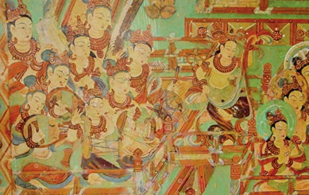 敦煌壁畫。(公有領域)