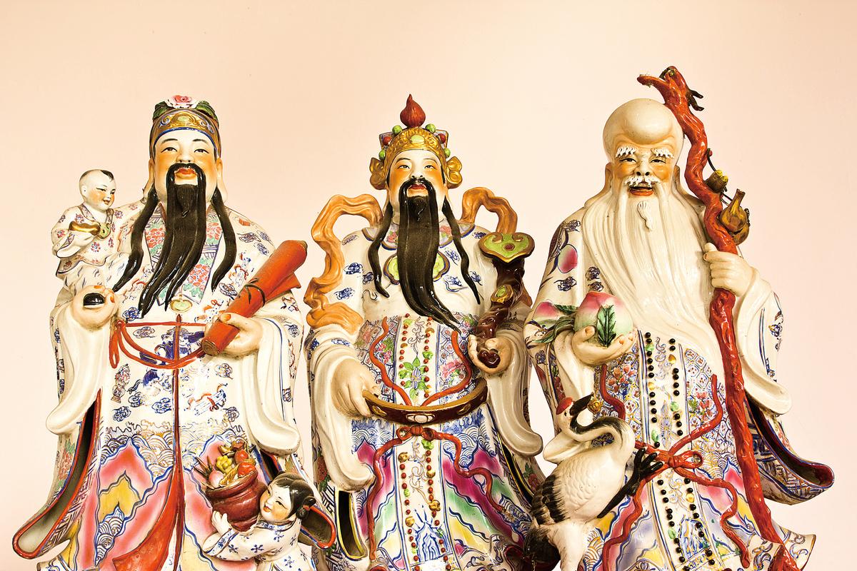 福祿壽神像(fotolia)