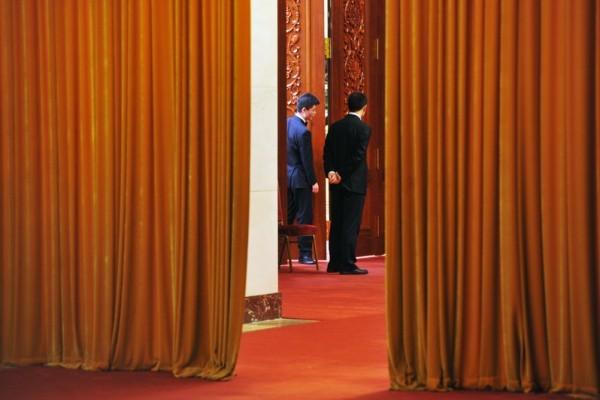 前中組部副部長兼人社部副部長潘立剛調任全國政協任機關黨組副書記。圖為2015年3月兩會。(大紀元資料室)
