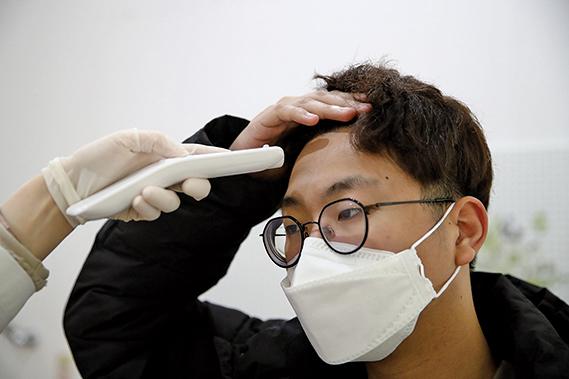 南韓一名武漢肺炎患者達治癒標準