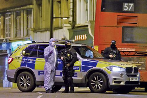 英國倫敦發生疑似恐襲 警方擊斃一名男子