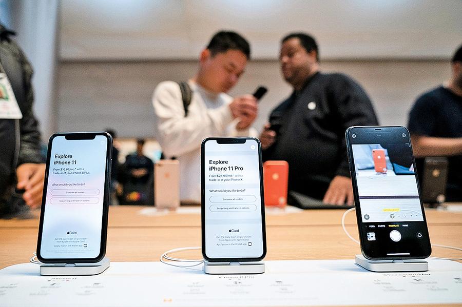 iPhone重新增長 穿戴式裝置熱銷