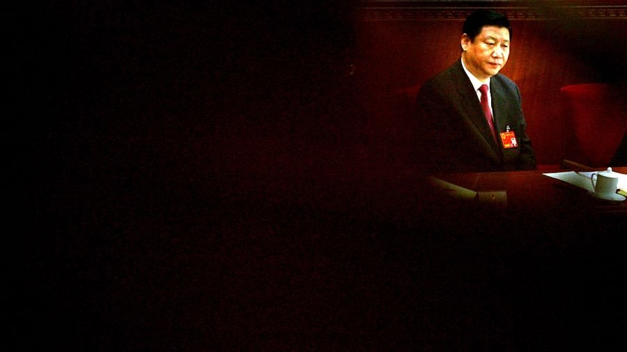 武漢肺炎疫情失控,習連續隱身6天,引發輿論風暴。(Feng Li/Getty Images)