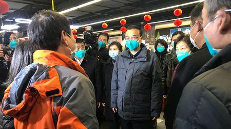 李克強27日前往武漢視察。(STR/AFP via Getty Images)