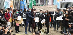 【圖片新聞】林鄭仍拒見醫護工會
