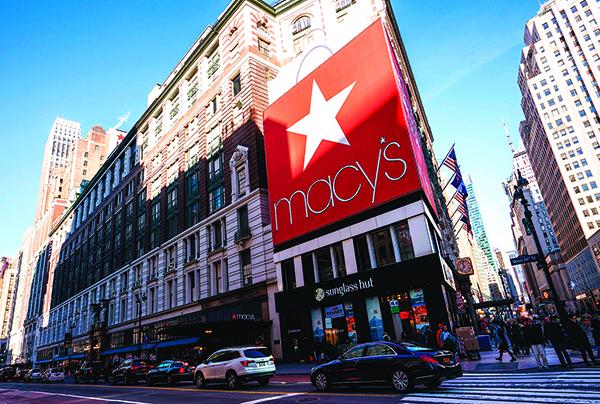 2019年1月11日,紐約曼哈頓的梅西百貨旗艦店。(Getty Images)