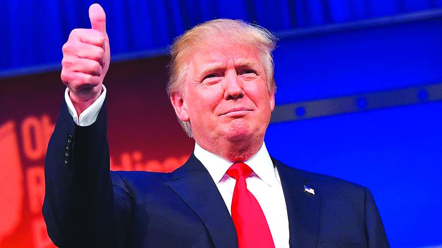 不受彈劾影響 特朗普蓋洛普民調支持率創新高