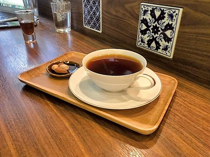 幻猻家咖啡的老闆特別為每個人調製的咖啡。