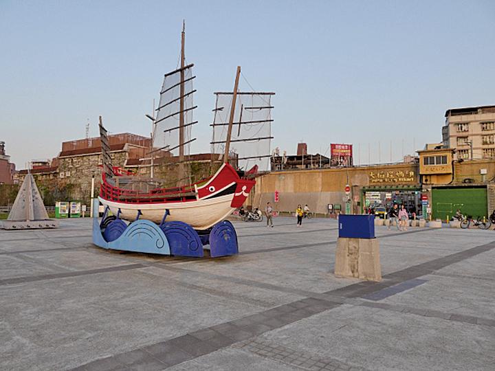 大稻埕碼頭。