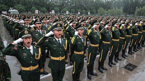 6日,有港媒稱,中共空軍、武警目前疫情嚴重。( VCG/VCG via Getty Images)
