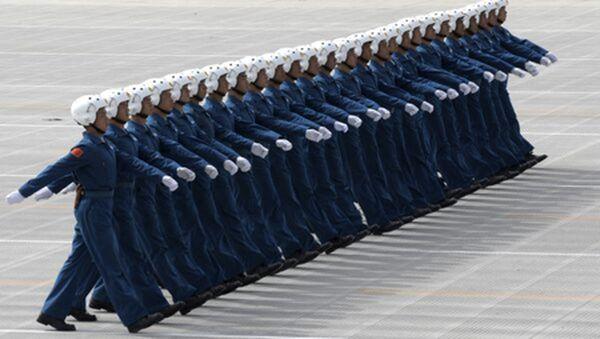 消息稱,湖北孝感市的一支中共空軍空降兵保障部,200名現役軍人均被隔離。示意圖(LIU JIN/AFP via Getty Images)