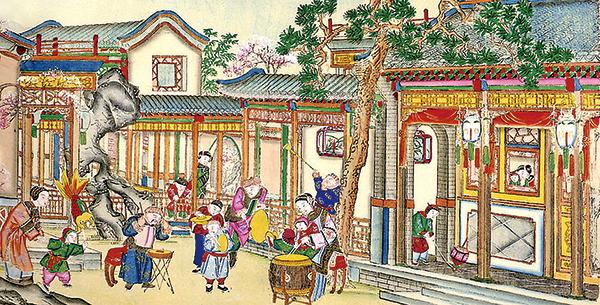 元宵節為中國重要的傳統節日之一(公有領域)