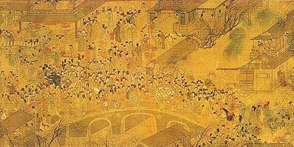 明《上元燈彩圖》(公有領域)