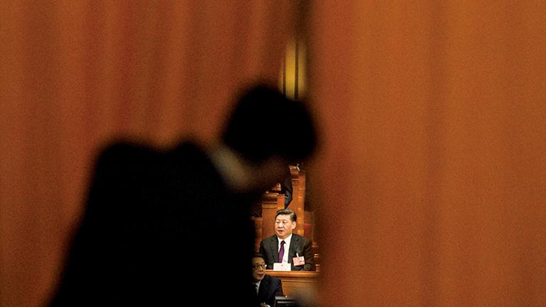 一連隱身7天,直至2月5日,央視才播出習近平露面的畫面,引發外界諸多猜測。圖為資料照。(Getty Images)