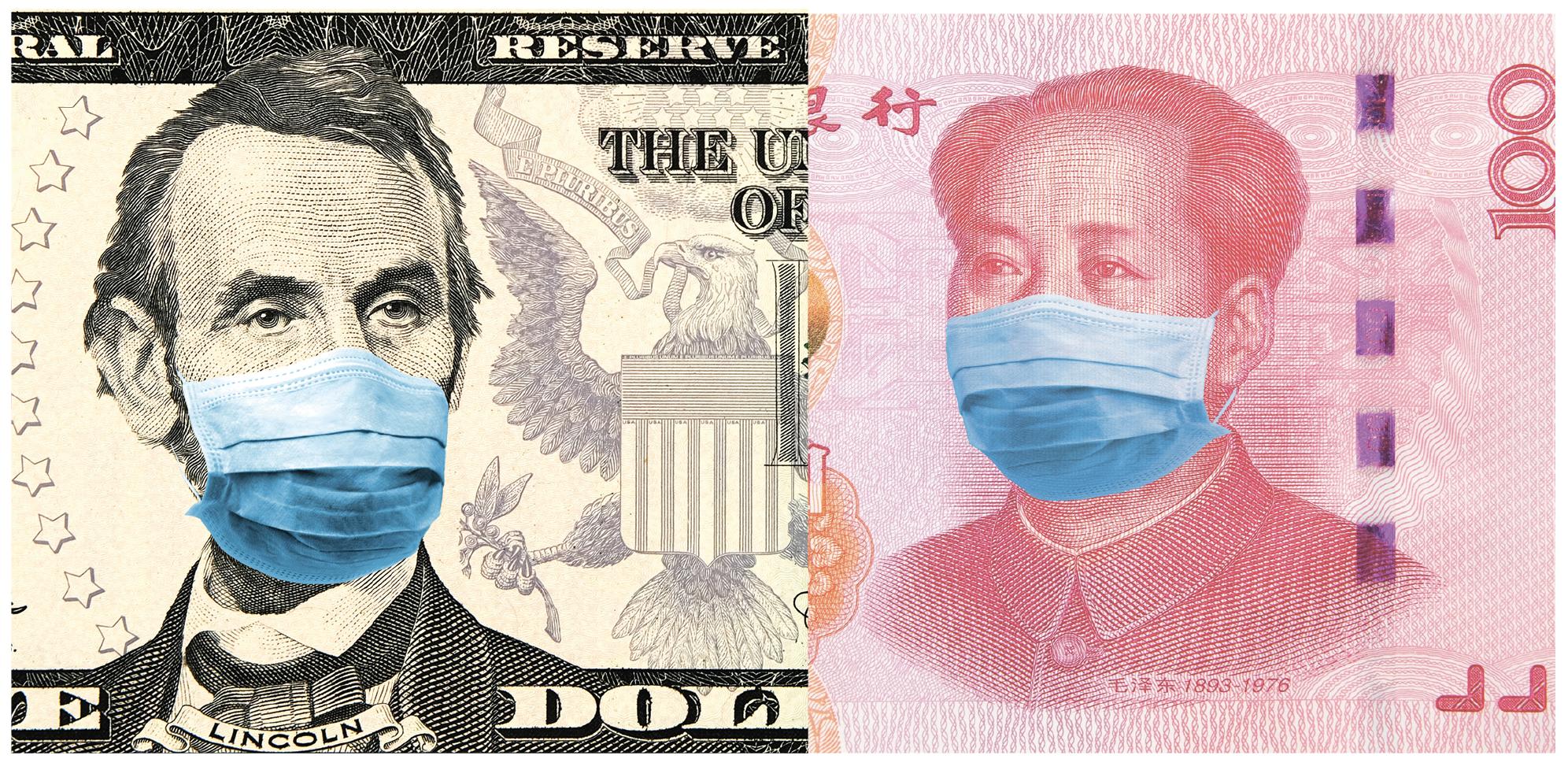 武漢肺炎將對全世界經濟帶來更巨大的挑戰。(Shutterstock)