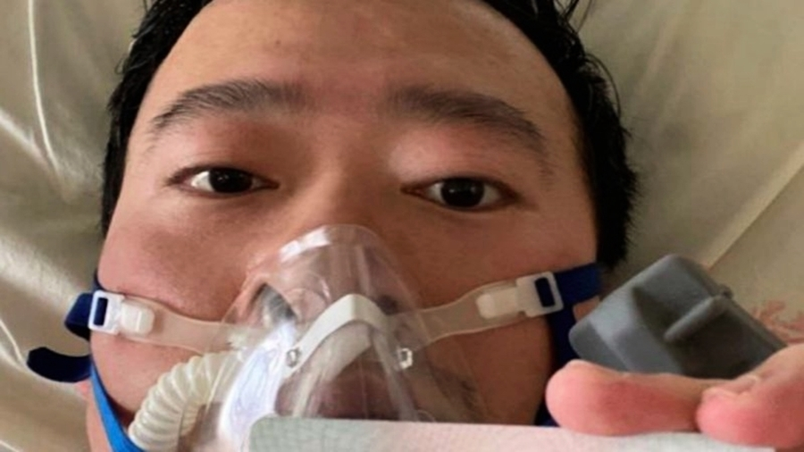 喉舌起義?網傳人民日報上海社長淚悼李文亮