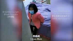 14秒影片催淚!父母被隔離,女童哭喊想媽媽