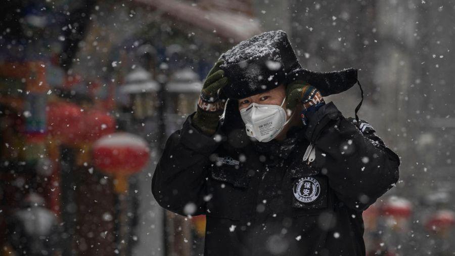 AI預測北京是下一個疫區,比武漢更危險。(Kevin Frayer/Getty Images)