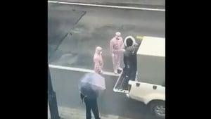 鐵箱子運送病人 傳出女子悽厲慘叫(影片)
