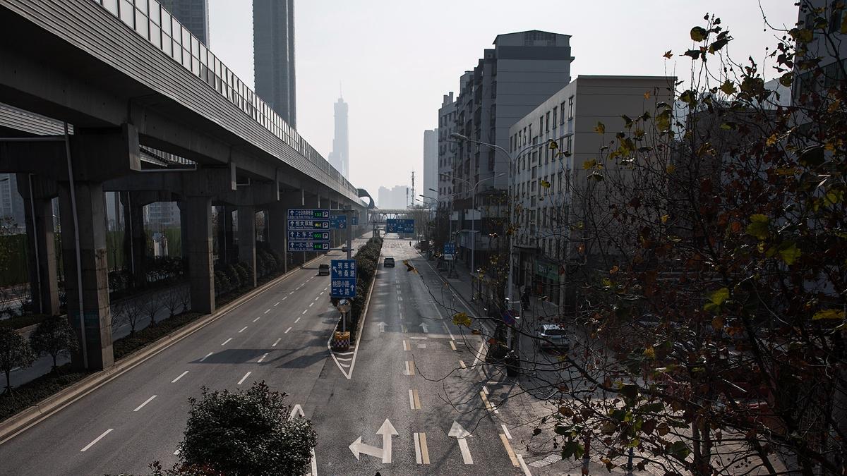 截止6日全中國已有3個省份境內全封、65個城市封城。示意圖(Getty Images)