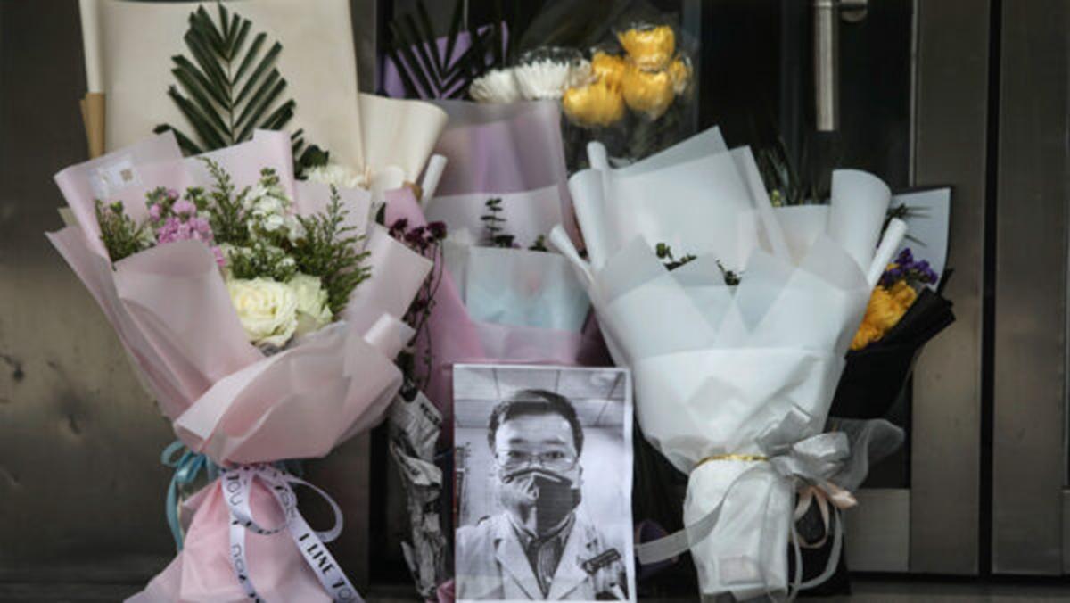 李文亮醫生6日晚病逝,各式哀悼他的訊息一夜之間刷屏各大社交媒體。( Getty Images)