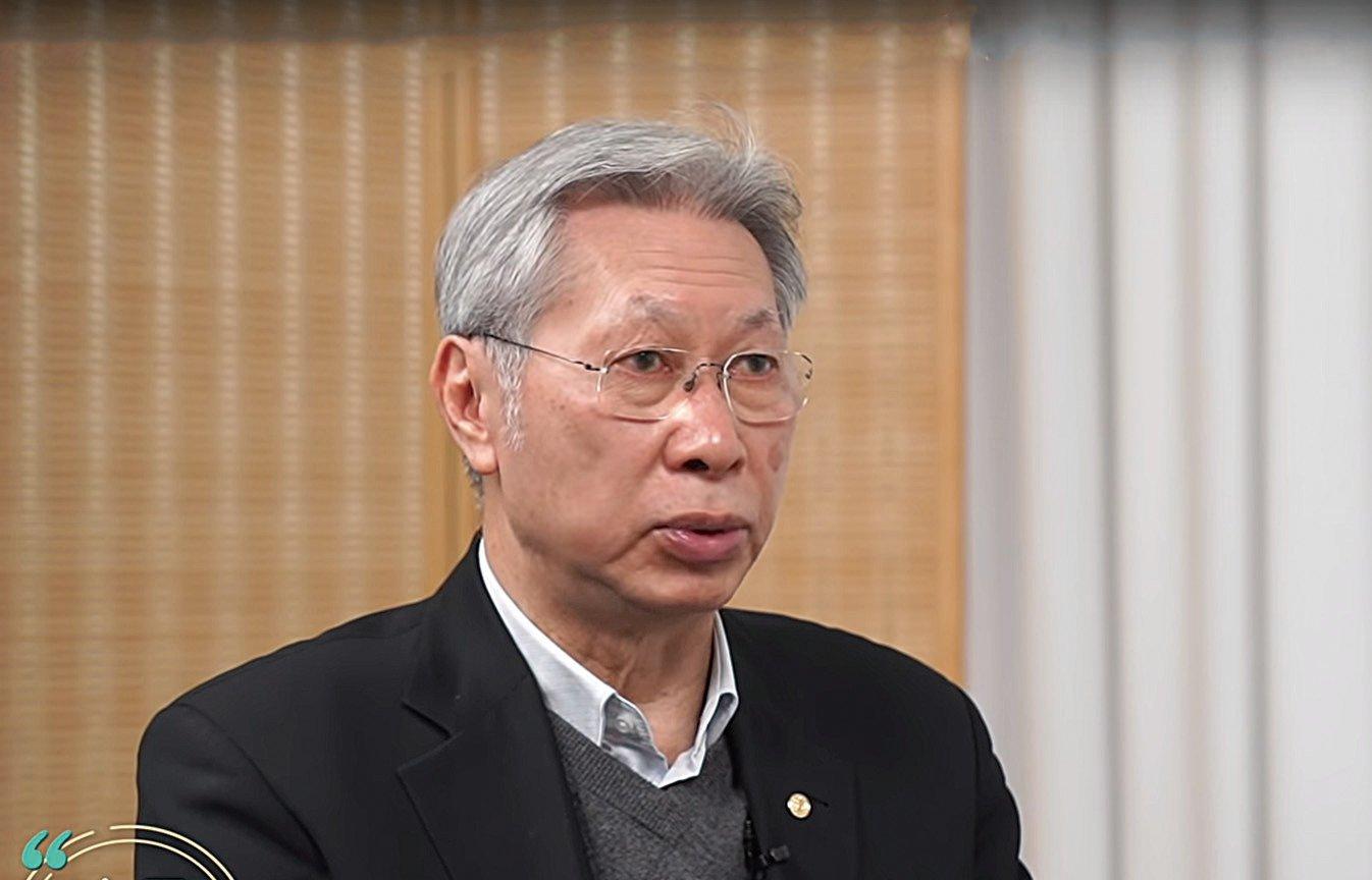 香港中小企業聯合會永遠榮譽主席、商界領袖劉達邦預計,武漢肺炎對中小企業的打擊比當年沙士更甚。(影片截圖)