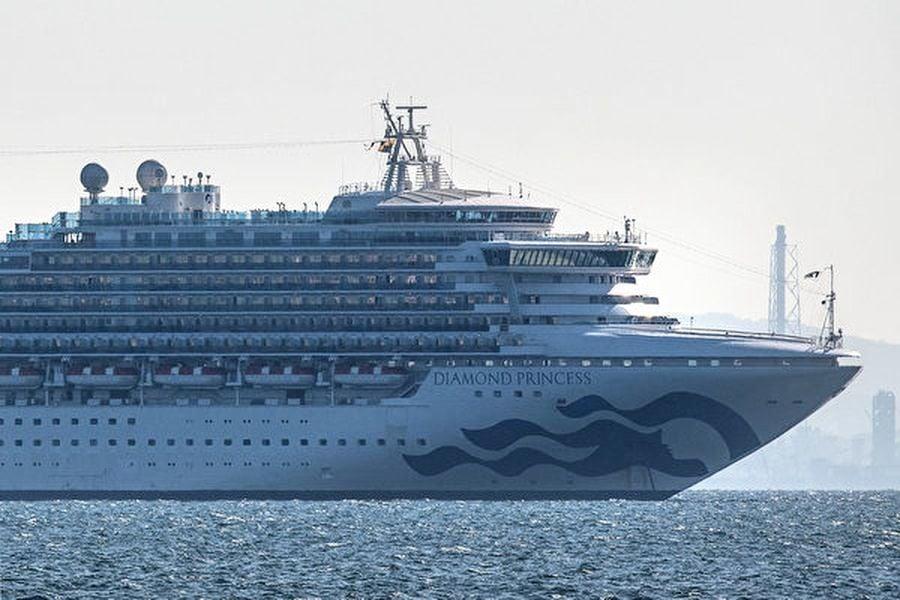 鑽石公主號再增65人確診 全船135人感染