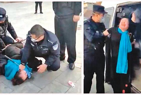 沒錢買口罩上街被抓 大媽:沒法活了