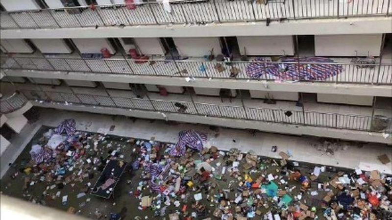 武漢職校宿舍被徵用 學生物品遭丟棄引民憤