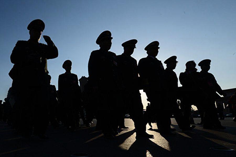 傳中共軍隊數十人確診 兩千多軍警被隔離