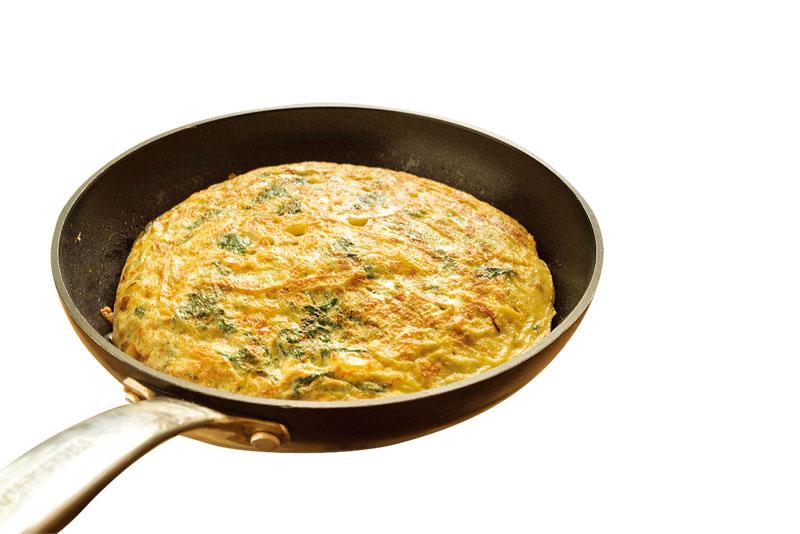 新手下廚時,可先從簡單的料理著手。(Fotolia)