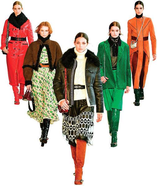 Longchamp2020 秋冬系列服裝展現獨特與自由