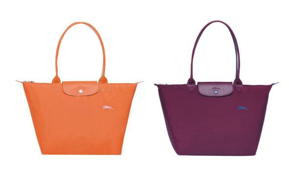 Le Pliage系列女士摺疊手袋。(Longchamp官網)