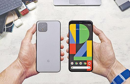 2019年10月發表的Pixel 4,被認為銷售情況不理想。(Shutterstock)