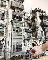 模型重塑歷史古蹟 藝術家一磚一瓦堆砌鄉愁